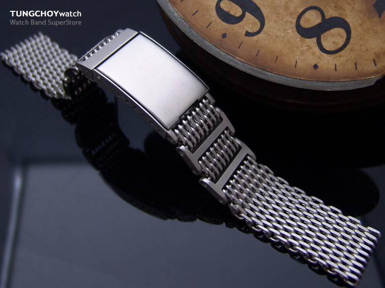 how to adjust mesh watch band