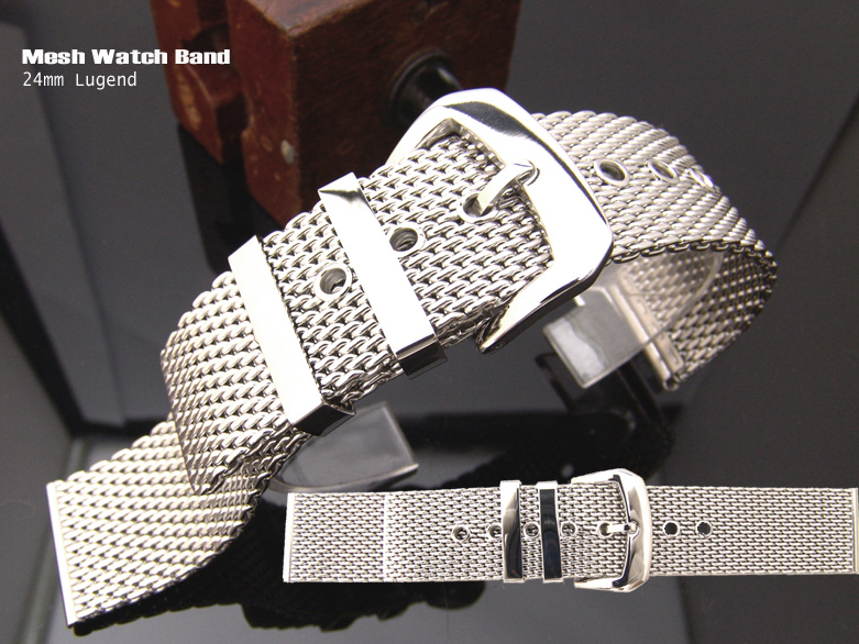 24mm Irresistible Mesh Watch Band Milanese Band Classic Watch Bracelet