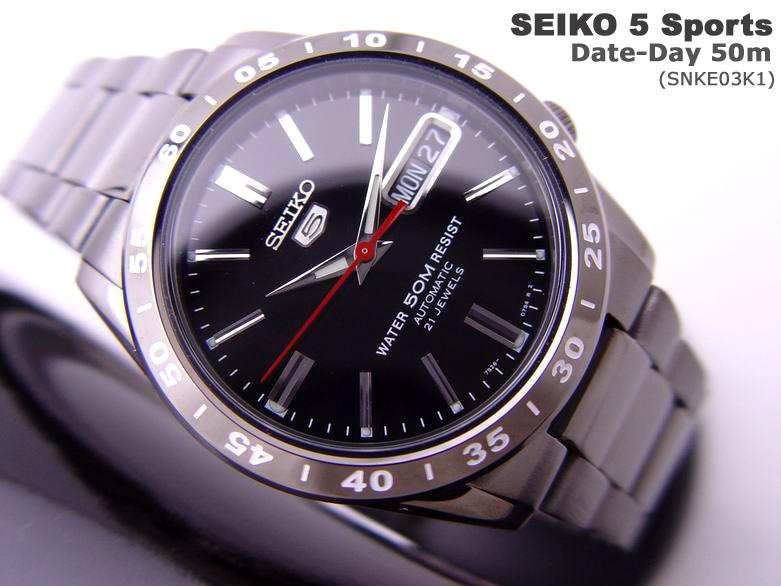 Seiko 5 Titanium Limited