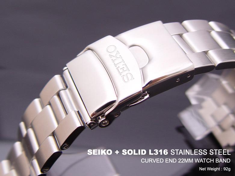 Zeno Stainless Steel Watch Bracelet 22mm Ref A-MT-PC 22