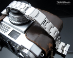 22mm Super Oyster 316L Stainless Steel Watch Bracelet for Seiko New Turtles SRP777 Diver Clasp Brushed